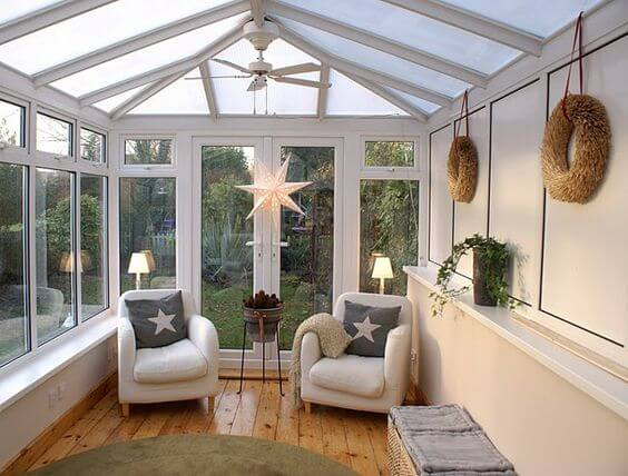 Small Conservatory Decorating Ideas 1