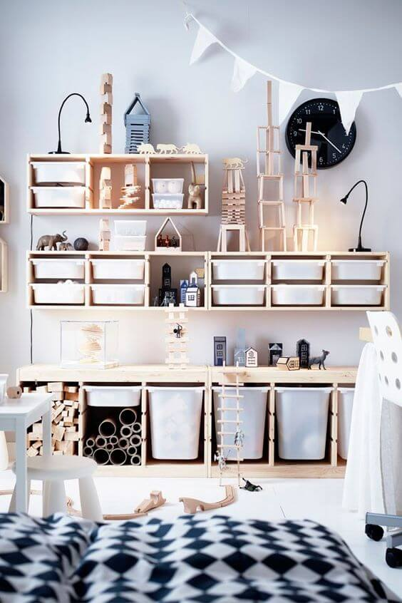 Storage Ideas for Toys in a Family Room 4