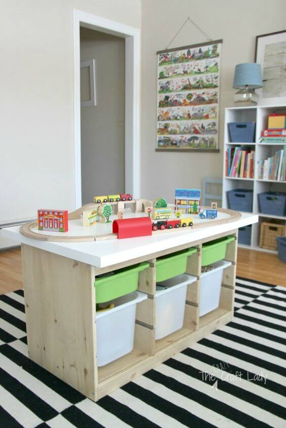 Storage Ideas for Toys in a Family Room 7