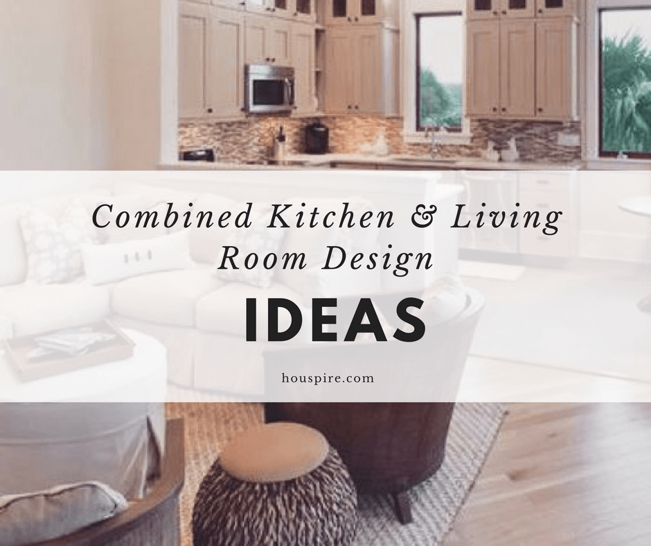 Combined Kitchen & Living Room Design Ideas