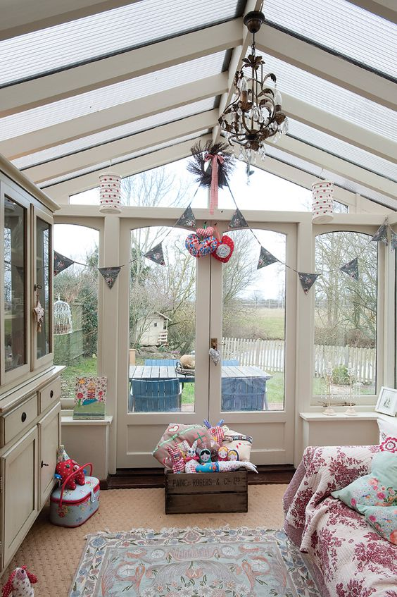 Conservatory playroom ideas the home builders for Porch interior ideas uk