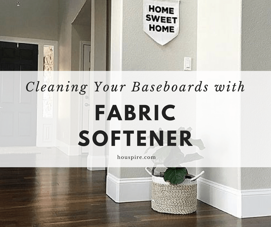 Cleaning Your Baseboards with Fabric Softener
