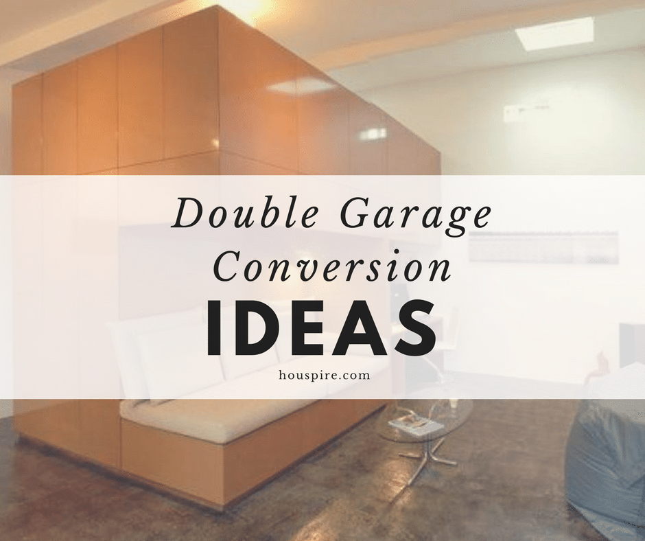 Garage Conversion Ideas Costs And Designs: Double Garage Conversion Ideas