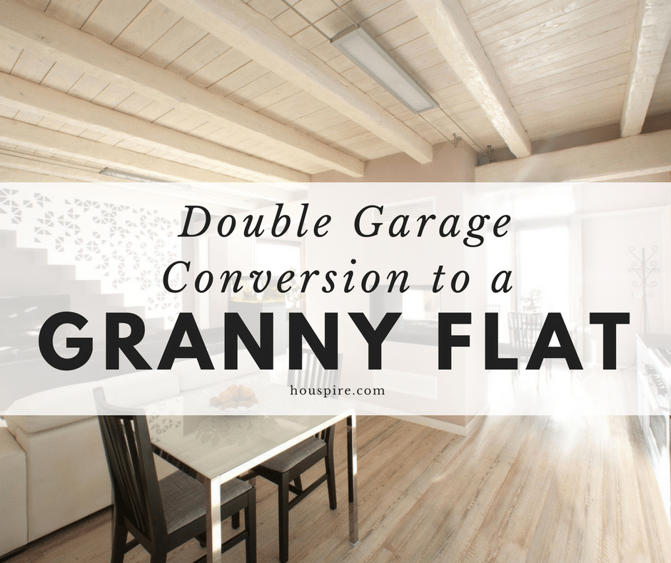Double Garage Conversion to a Granny Flat 1