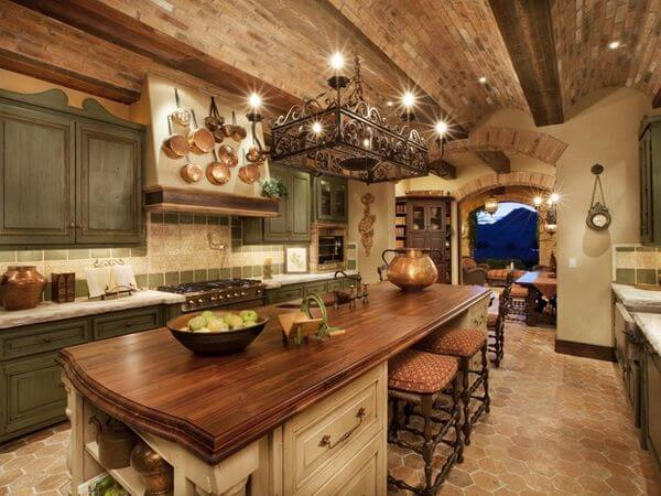 Tuscan Country Kitchen Ideas 1
