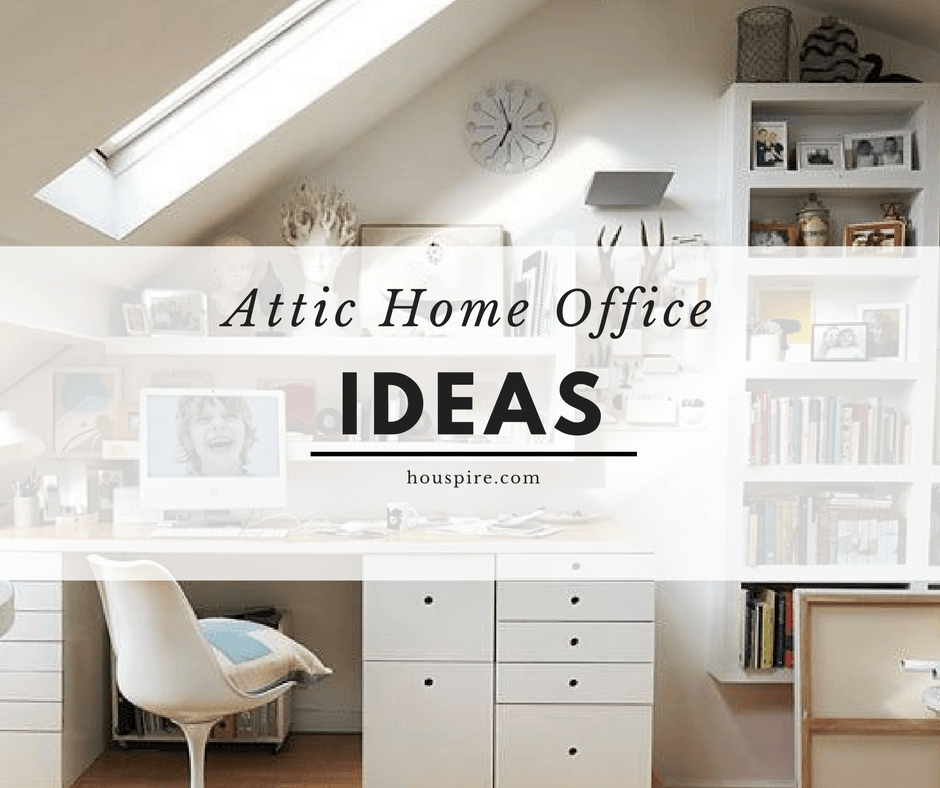 Attic Home Office Ideas