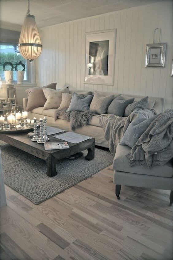 8 Fresh Grey Living Room Ideas 2