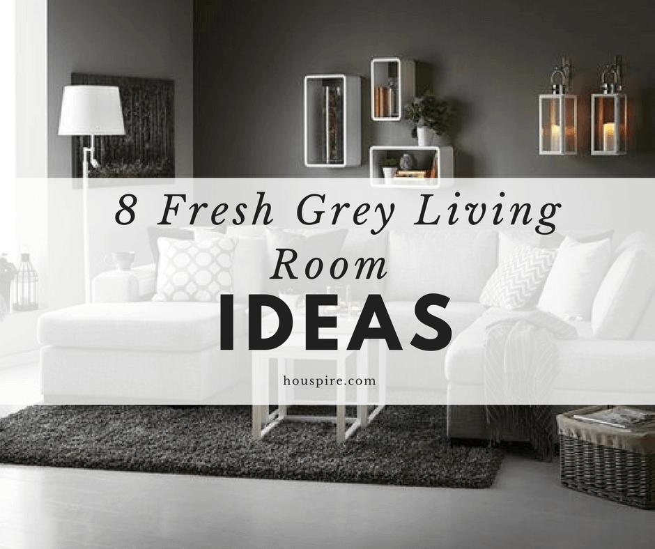 8 Fresh Grey Living Room Ideas