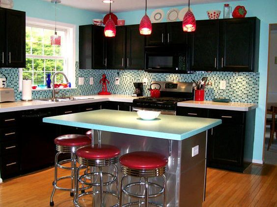 9 Gorgeous Red and Black Kitchen Ideas 9
