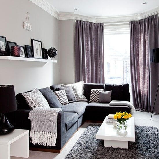 8 Fresh Grey Living Room Ideas 3