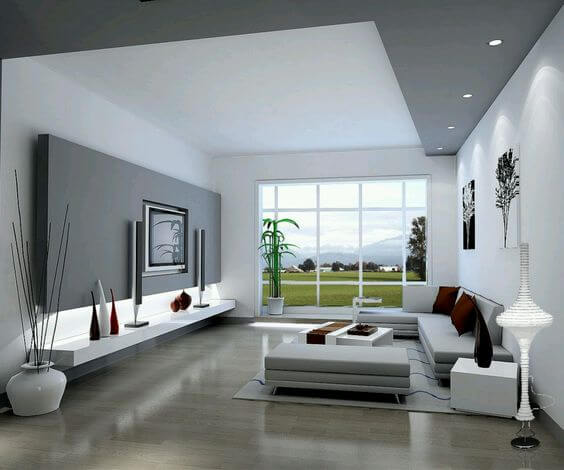 8 Fresh Grey Living Room Ideas 6