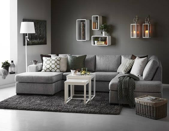 8 Fresh Grey Living Room Ideas 1
