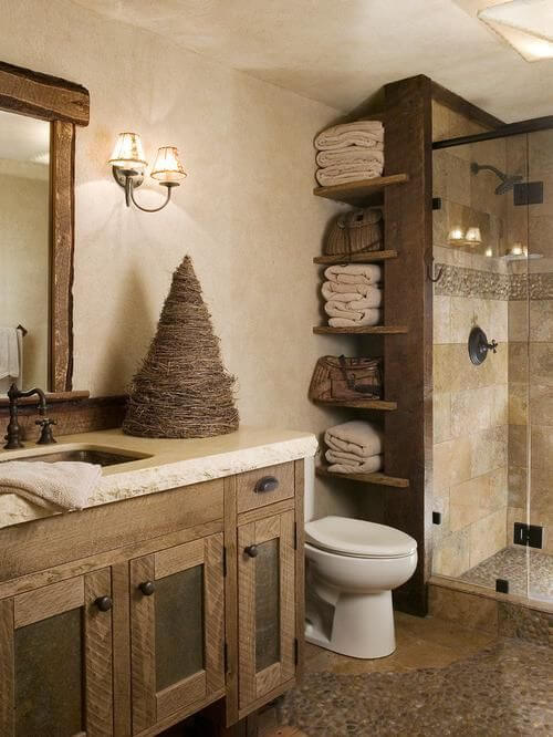 8 Superb Rustic Bathroom Ideas 4