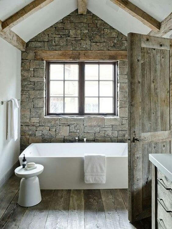 8 Superb Rustic Bathroom Ideas 9