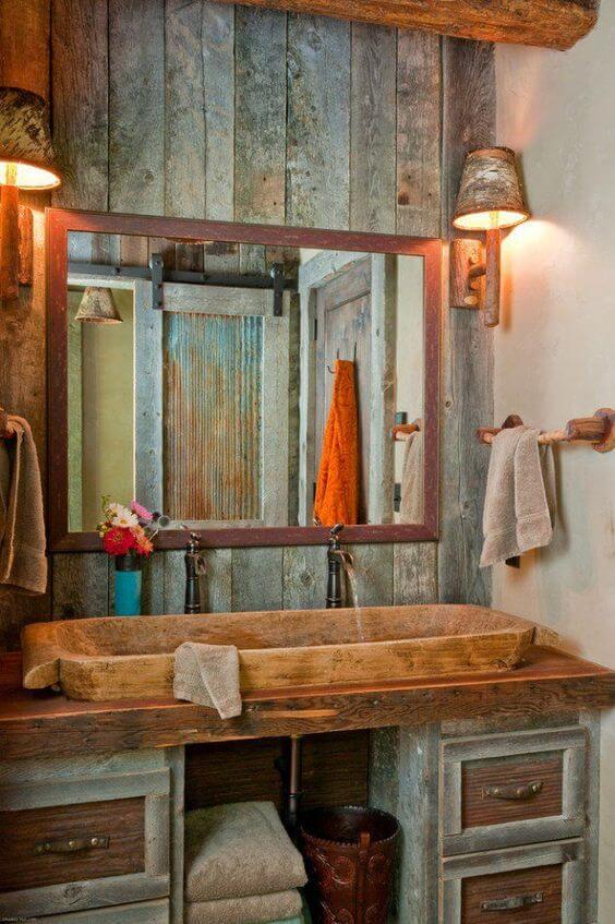 8 Superb Rustic Bathroom Ideas 3