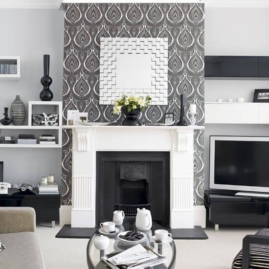 8 Luxurious Black and White Living Room Ideas 7