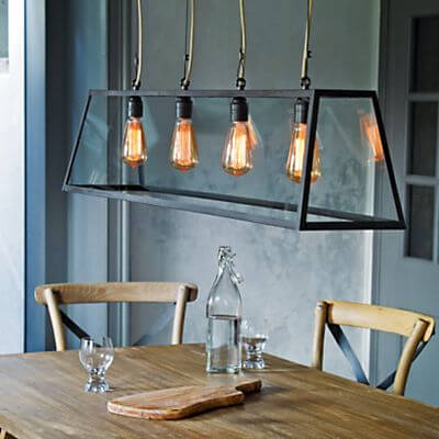 9 perfect dining room lighting ideas houspire for Kitchen lighting ideas john lewis