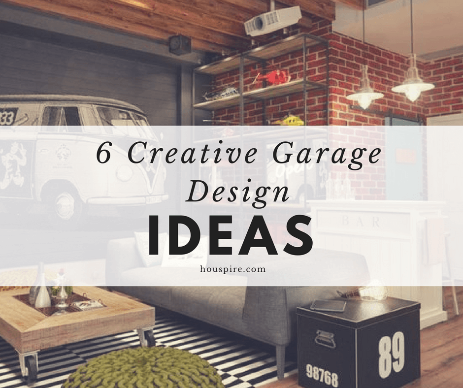 54 Cool Garage Door Design Ideas Pictures: 6 Creative Garage Design Ideas
