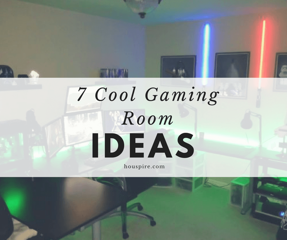 7 cool gaming room ideas houspire Cool gaming room designs