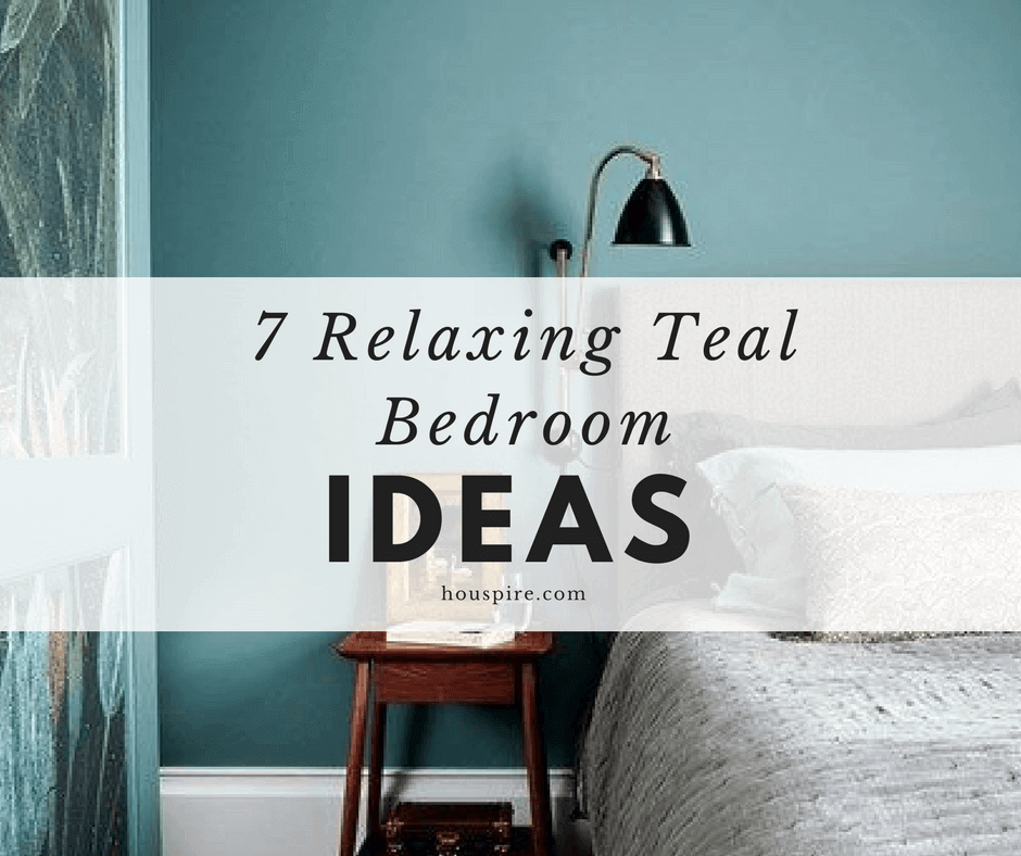 7 Relaxing Teal Bedroom Ideas