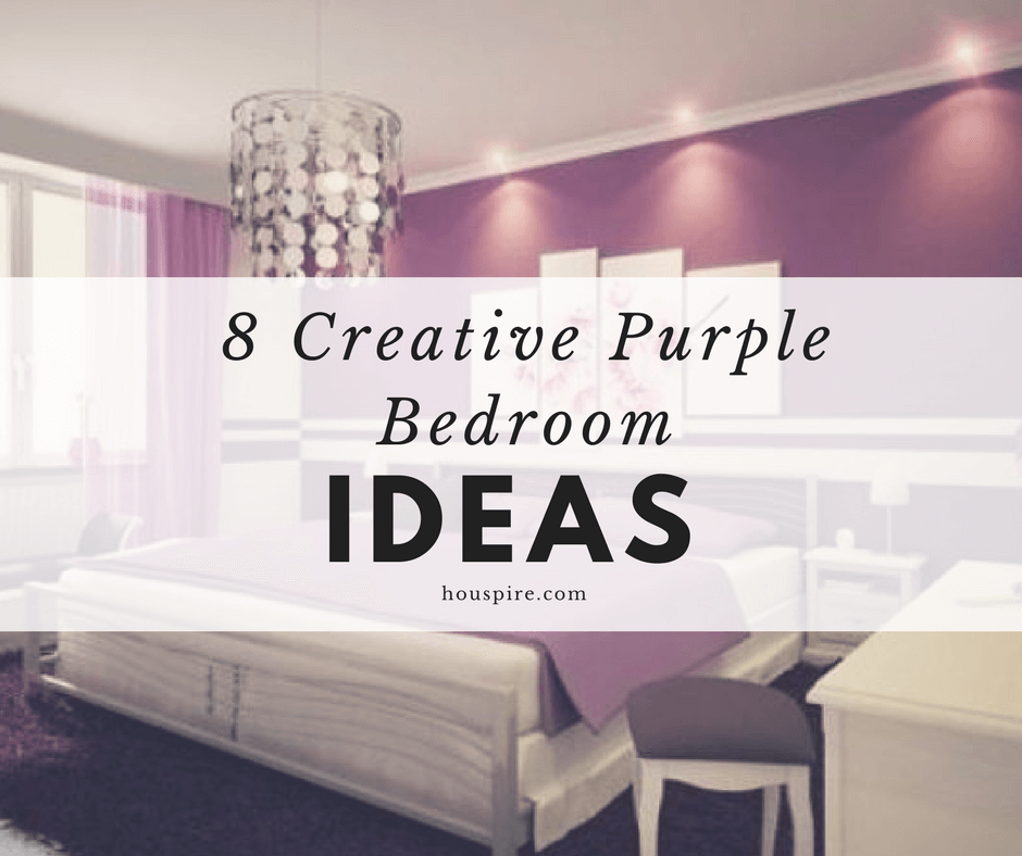 8 Creative Purple Bedroom Ideas