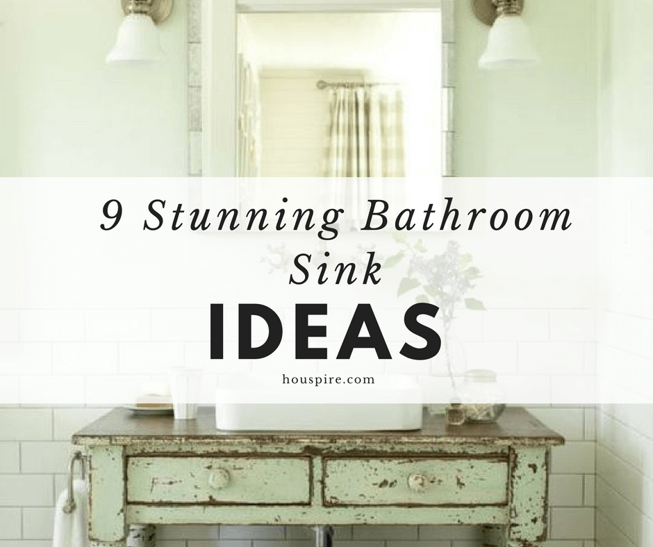 9 Stunning Bathroom Sink Ideas