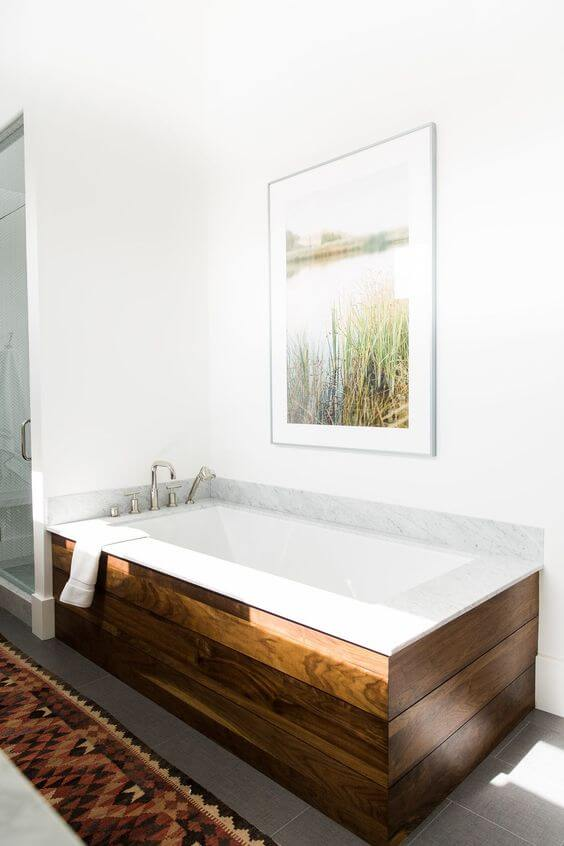 9 Inspired Bathtub Surround Ideas 2