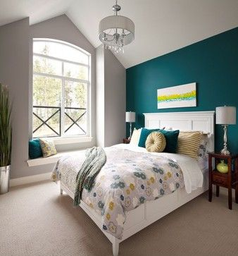 7 Relaxing Teal Bedroom Ideas 2