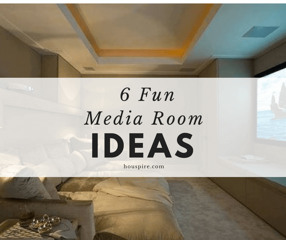 6 Fun Media Room Ideas