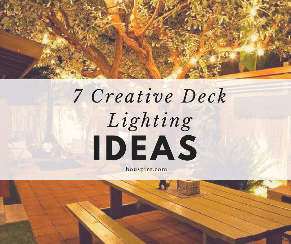 7 Creative Deck Lighting Ideas
