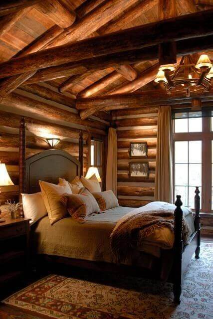 Log Cabin Love