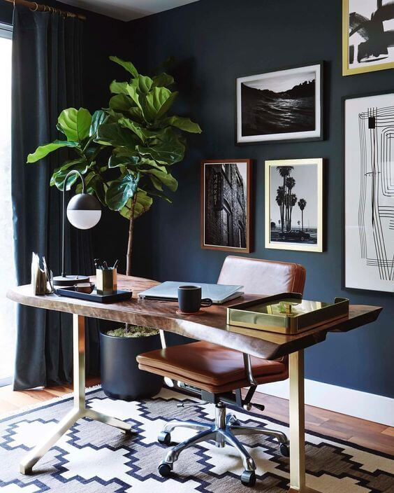 11 Cool Home Office Ideas For Men: 8 Cool Home Office Ideas For Men