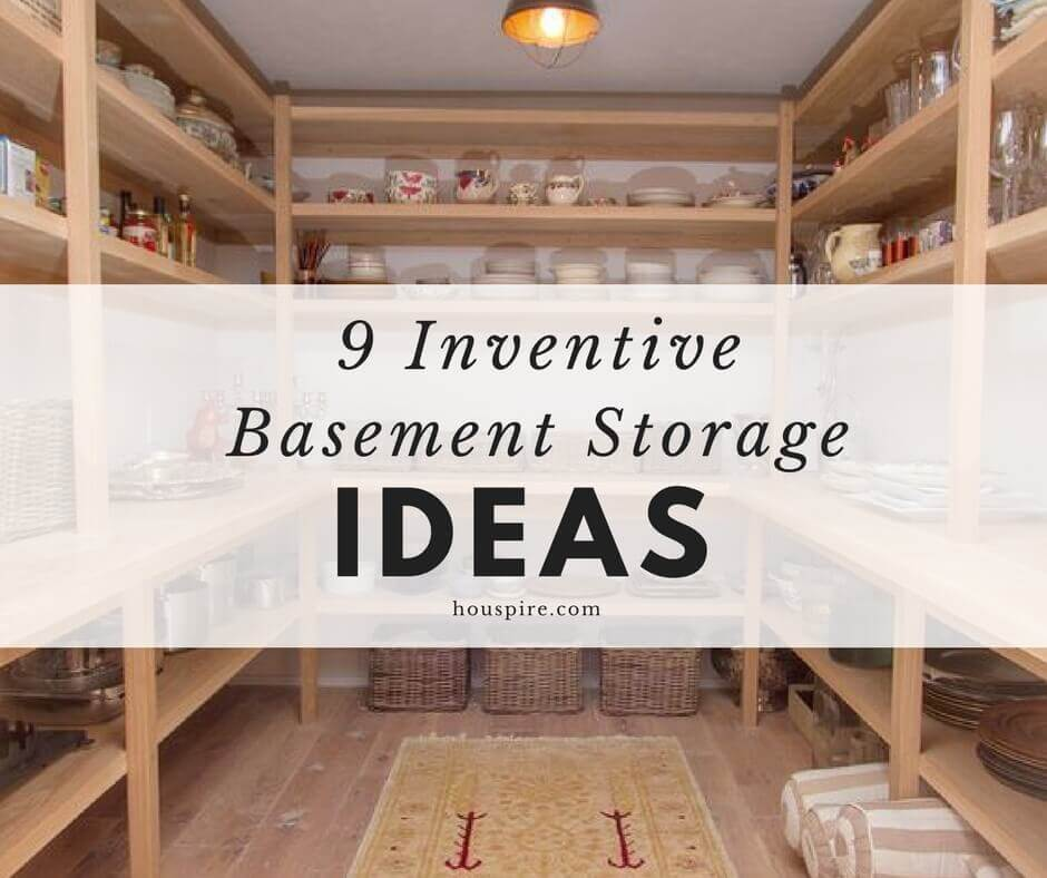 9 Inventive Basement Storage Ideas