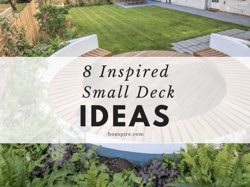 8 Inspired Small Deck Ideas
