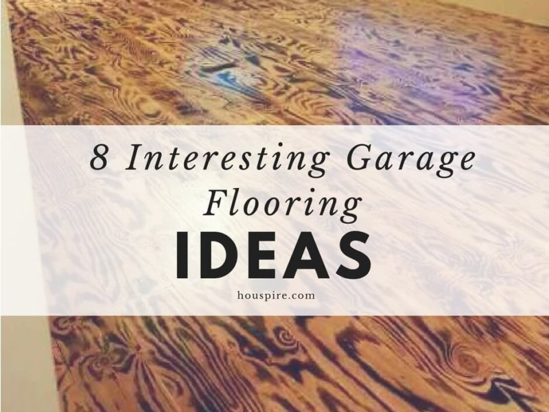 7 Interesting Garage Flooring Ideas