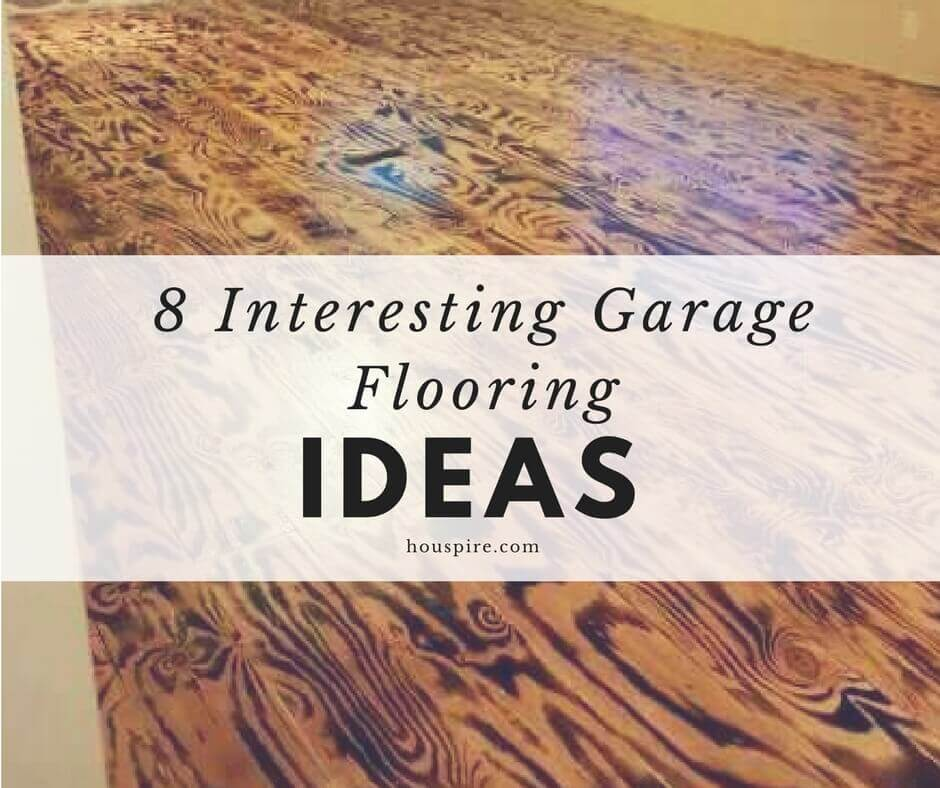 8 Interesting Garage Flooring Ideas