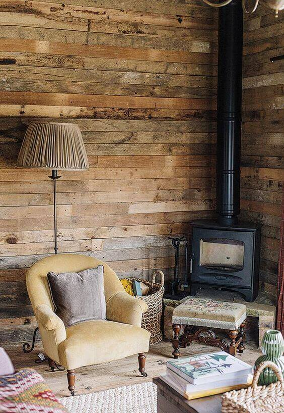 The Rustic Woodburner