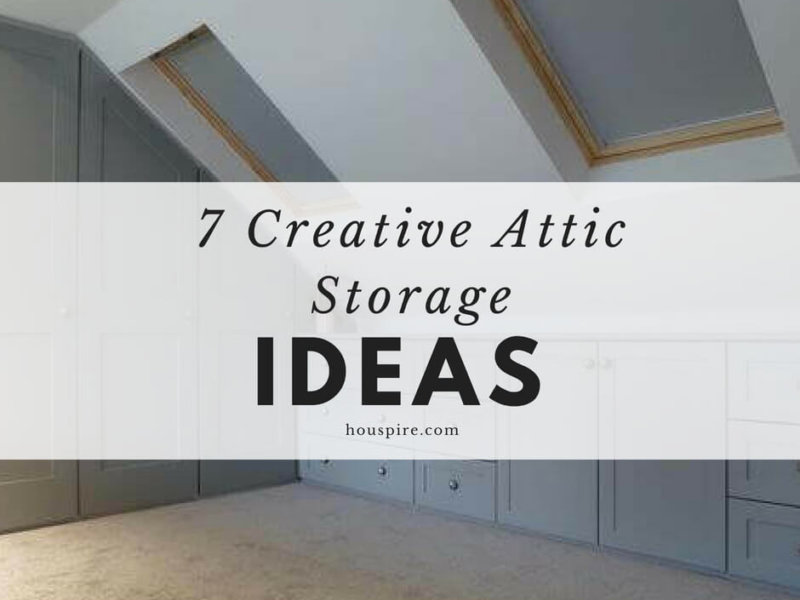 7 Creative Attic Storage Ideas