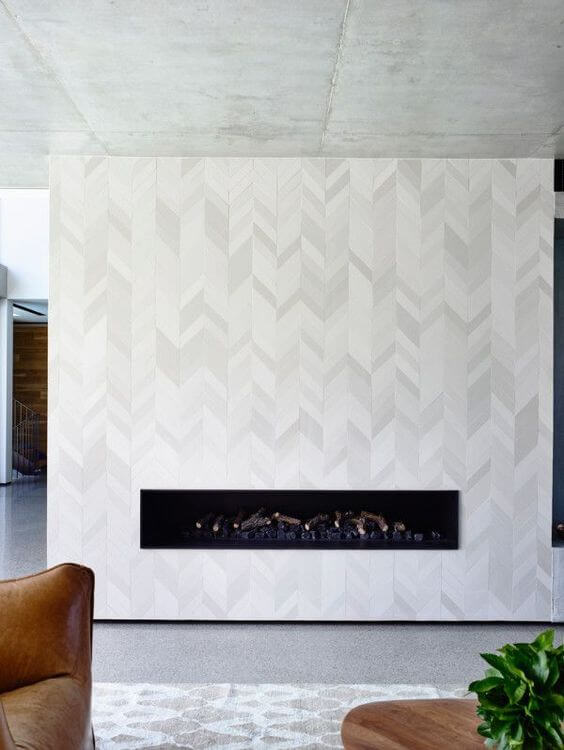 8 Unique Fireplace Tile Ideas 2