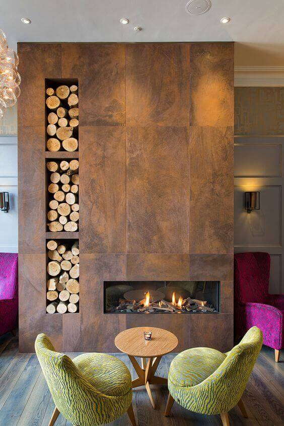 8 Unique Fireplace Tile Ideas 6