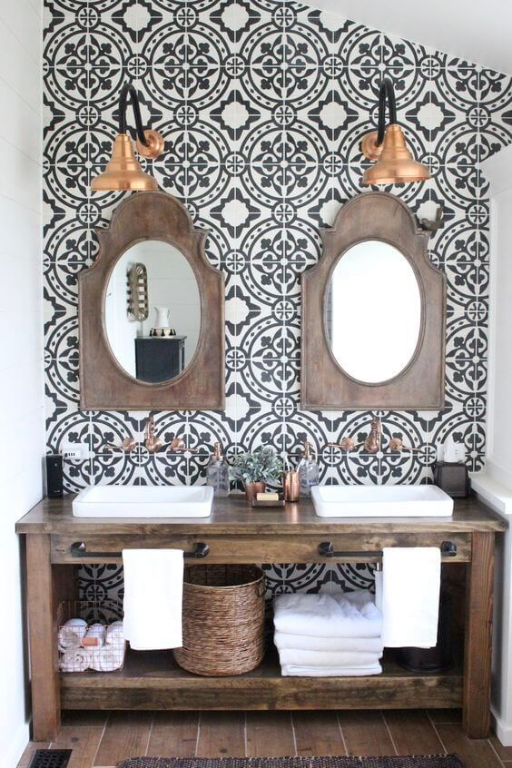 9 Inspired Bathroom Backsplash Ideas 3