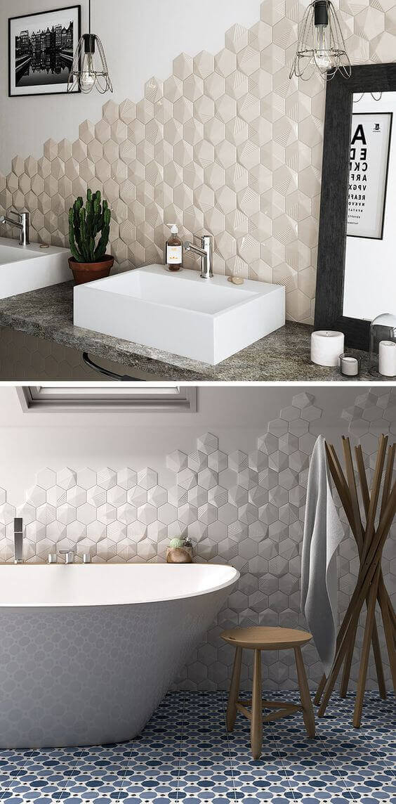 9 Inspired Bathroom Backsplash Ideas 7