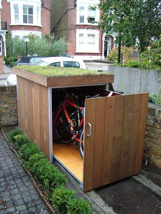 8 Unique Bike Storage Ideas 2