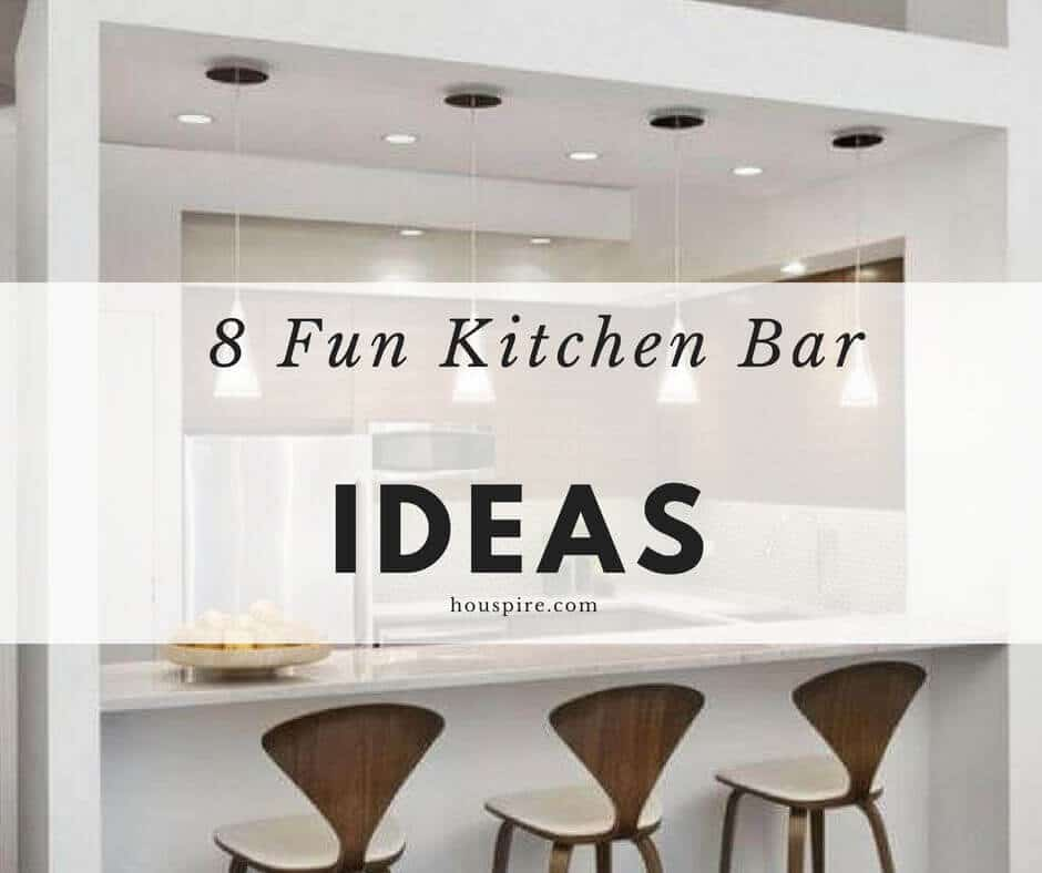 8 Fun Kitchen Bar Ideas