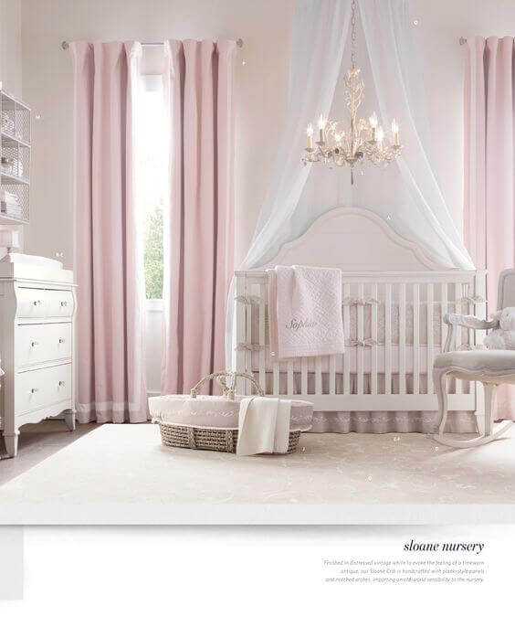 6 Beautiful Girls Nursery Ideas 4