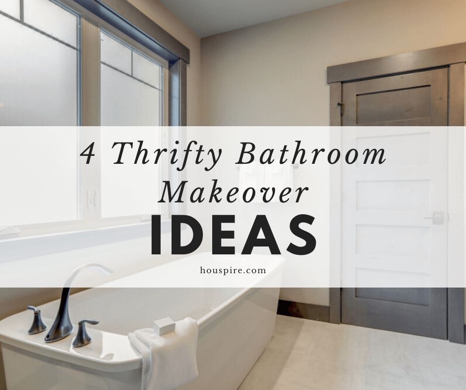 4 Thrifty Bathroom Makeover Ideas 1