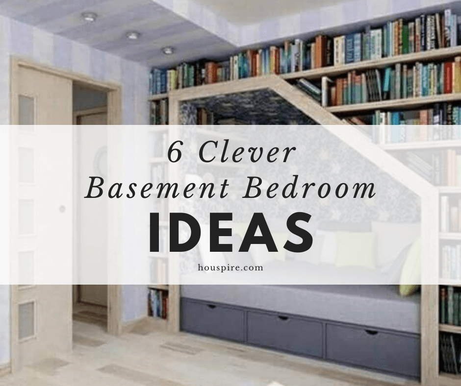 6 Clever Basement Bedroom Ideas 1