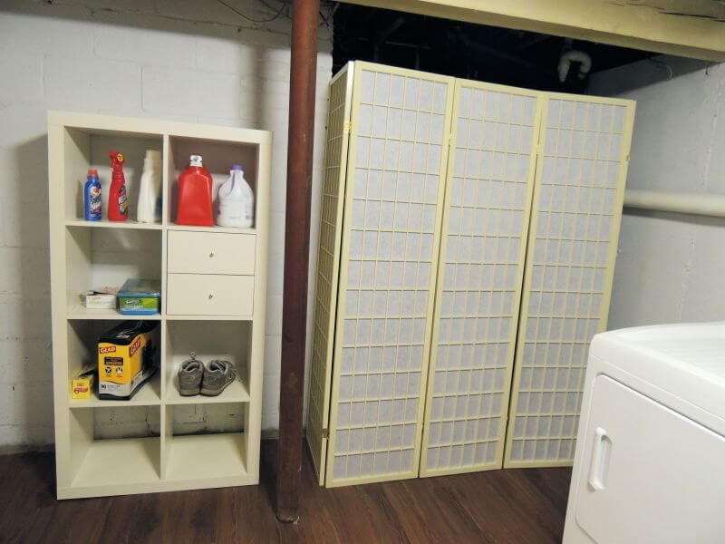 Ideas To Hide Your Basement Furnace 3