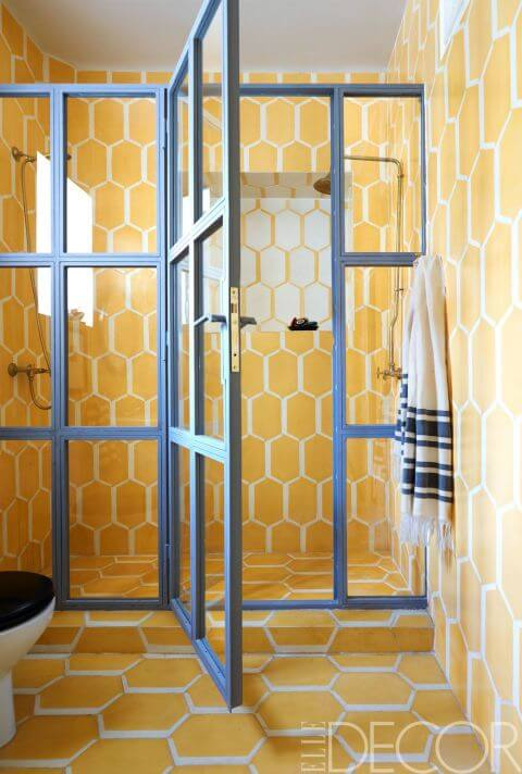 Blue And Yellow Bathroom Decorating Ideas 4