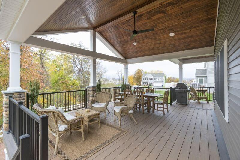 Covered Deck Ceiling Ideas 1